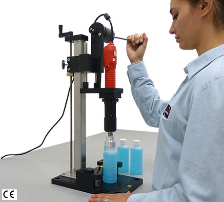 Tabletop Capping Equipment is compact, easy to use & provides outstanding repeatable torque