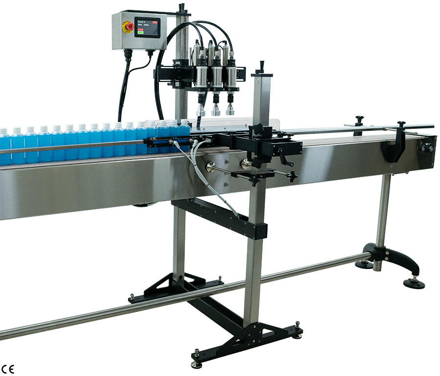 Automatic Cap Tightener - Automatic Bottle Capping Machine
